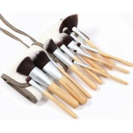 Sunshade Minerals zestaw 12 sztuk pędzli do makijażu