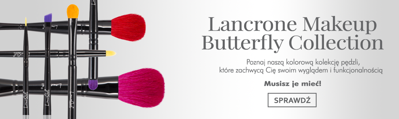Lancrone Butterfly Collection, pędzle, które uwiodą Cię wyglądem i funkcjonalnością