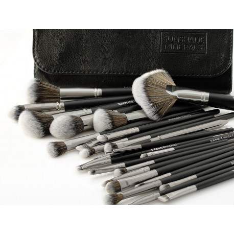 SUNSHADE MINERALS Make-Up Studio Professional ZESTAW 25 sztuk