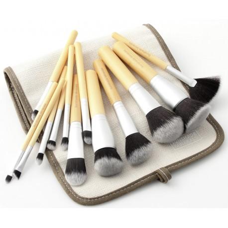 Sunshade Minerals zestaw 13 sztuk pędzli do makijażu