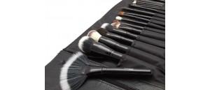 Pędzle do makijażu zestaw 25 sztuk LANCRONE Make-Up Studio Professional