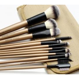 Pędzle do makijażu zestaw 12 sztuk SUNSHADE MINERALS