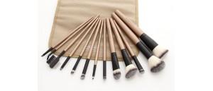 Pędzle do makijażu- zestaw 13 sztuk Sunshade Minerals
