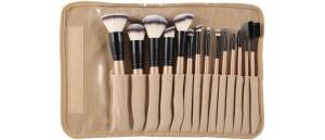 Pędzle do makijażu- zestaw 14 sztuk Sunshade Minerals